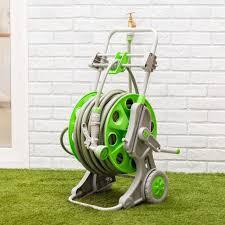 portable hose reel 60m cart set with