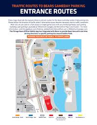 Parking Transportation Guide Chicago Bears Official Website