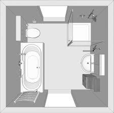 Badezimmer Zeichnen Perspektive