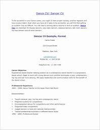 How To Make A Dance Resume Dance Resume Template Microsoft Word Elegant Dance Resumes