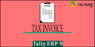 Prepare Invoice How To Prepare Gst Tax Invoice In Tally Erp 9 Gst Bill Format