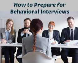 Behavioral Based Preparing For A Behavioral Interview