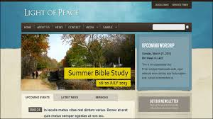 Church Website Templates Impressive 28 Beautiful Church Website Templates For Religious Websites