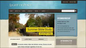 Church Website Templates Impressive 28 Beautiful Church Website Templates For Religious Websites