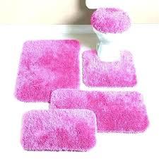 pink bath rugs light rug set room