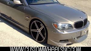 Check It Out! 2006 BMW 750LI on 22