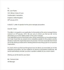 Best Solutions Of Regret Letter After Job Application Perfect Email