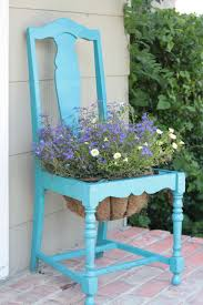 easy chair planter DIY for mom