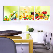 3 piece canvas kitchen fruit pictures print oil wall paintings modern painting on art modular picture