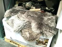 faux sheepskin rug costco 1501 furniture of america dining table