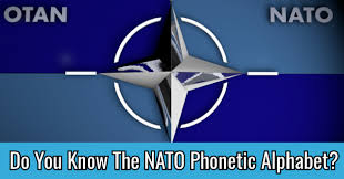 The phonetic alphabet is basically words with the letter at the front e.g. Do You Know The Nato Phonetic Alphabet Quizpug