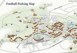 Scott Stadium Parking Lots Virginia Athletics Foundation