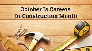 Image result for careers in construction month 2018