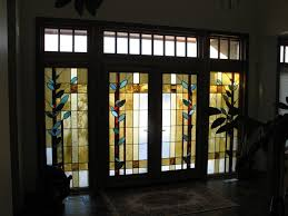 new ideas decorative glass window inserts with custom glass doors stained glass window above fireplace