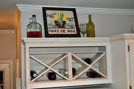 hanging wine rack design glass ikea wall bed bath beyond wood target
