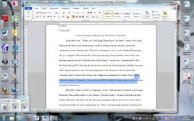 literary analysis of short story