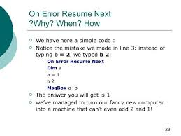 On Error Resume Next Vbscript Sample Professional Letter Formats