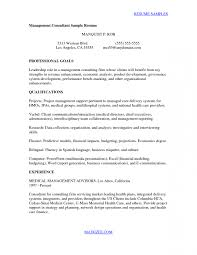 Awesome Collection Of Cover Letter Sample Management Consulting With