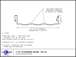 1 1 2 standing seam pdf dwg