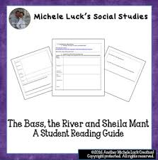 the bass the river and sheila mant essay