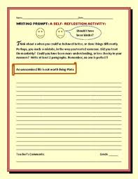 Psychology is the scientific study of behaviour and mental processes. Self Reflection Essay Prompt