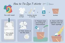 Decorate Your Own Clothes How To Make Tie Dyed Clothes And Crafts