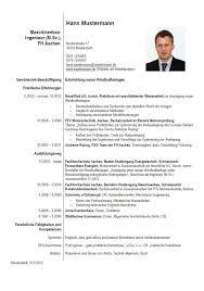 Euro Cv Lebenslauf Karriereletter