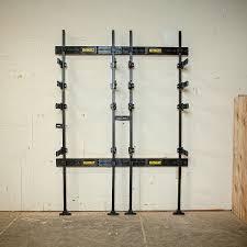 dewalt tough system wall mount. dewalt dwst08270 tough system workshop racking with organizer - amazon.com dewalt wall mount o