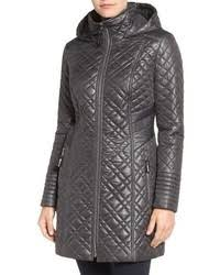 Via Spiga Tassel Detail Hooded Mix Quilt Coat | Where to buy & how ... & ... Via Spiga Tassel Detail Hooded Mix Quilt Coat ... Adamdwight.com