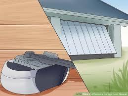 image titled choose a garage door opener step 2