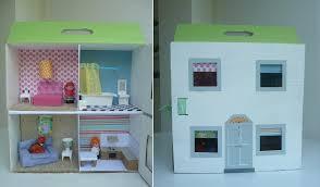 Homemade Cardboard Dolls House Pie Mummy - Dolls house interior