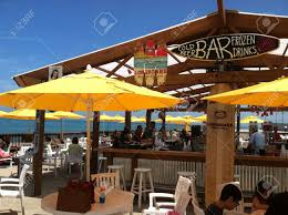 Outside Bar Oak Street Beach Outside Bar Downtown Chicago Stock Photo Picture
