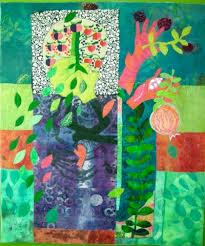 How to Make an Art Quilt, Again — susiemonday.art.ideas & These are all inspired by the story of Persephone, her acceptance of her  role as Queen of the Underworld, her visit over the River Styx and her  mother ... Adamdwight.com