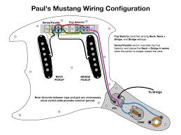 shortscale view topic i designed a new mustang wiring diagram telecaster humbucker bridge wiring diagram Bridge Wiring Diagram #31