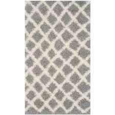 safavieh dallas gray ivory 3 ft x 5 ft area rug