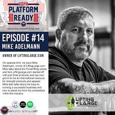 LiftingLarge.com - Repost from @uspapower - Our newest episode of Platform  Ready, our official podcast, is live! Tune in on iTunes, Stitcher and  Spotify. On episode #14, host Andy Huang (@that_hugeasian_guy) talks