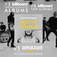 Amazon Music Charts Albums Switchfoots Native Tongue Makes Impressive Chart Debut