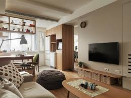 Small Apartment With Open Layout Living Room