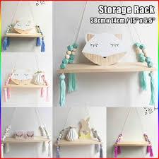 tassel bead storage wall shelf nursery