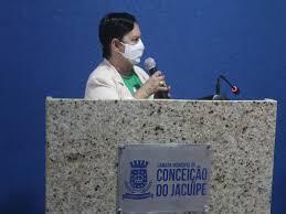 A VOZ DA REGIÃO - Tânia Yoshida toma posse como prefeita de Conceição do  Jacuípe e faz desabafo e denuncias
