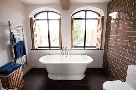 bathroom design 1920s house. outstanding conversion: arched windows from the original facade of cinema area a main feature bathroom design 1920s house