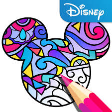 Disney Launches Its Own Adult Coloring Book App Techcrunch