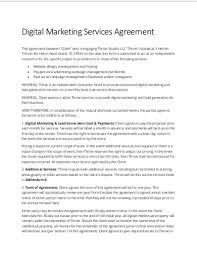 You get an awesome marketing proposal template. Free 15 Marketing Services Agreement Examples Templates Download Now Examples