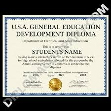 all ged documents diplomas degrees certificates transcripts  fake usa ged diploma