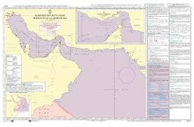 Admiralty Maritime Security Planning Chart Q6111 Persian Gulf And Arabian Sea