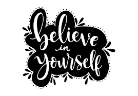 Inspirational vector hand drawn typography poster. 33 Be Yourself Designs Graphics