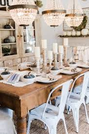neutral rustic fall dining room a farmhouse style dining room