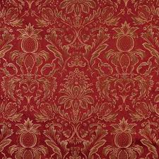 What Is Damask Wine Burgundy And Gold Heirloom Damask Upholstery Fabric