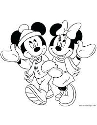 Minnie Mickey Coloring Pages Arcadexme