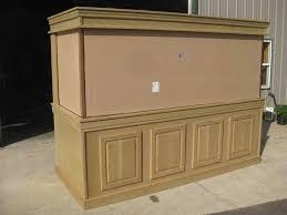 aquarium furniture design. Finished Oak Cabinet Aquarium Furniture Design